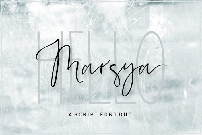 Thumbnail for Marsya Script