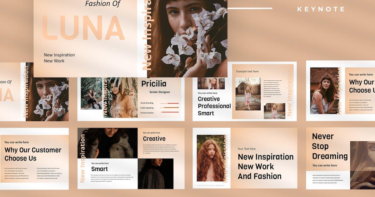 Download Luna - Fashion Keynote Presentation by TMint