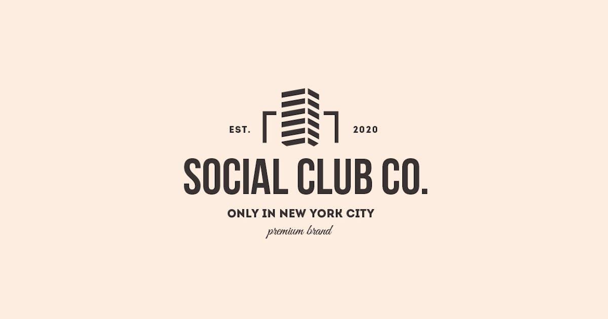 Download Social Club Urban Logo by designdistrictmx