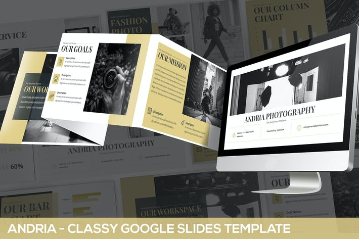 Thumbnail for Andria - Classy Google Slides Template