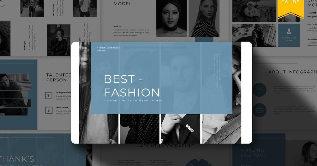 Download Best Fashion   Google Slides Template by Vunira