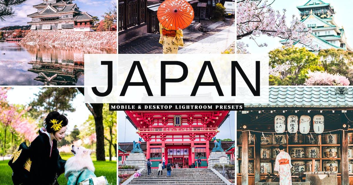 Download Japan Mobile & Desktop Lightroom Presets by creativetacos