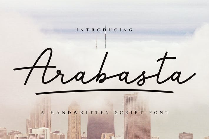 Thumbnail for Arabasta Signature Font