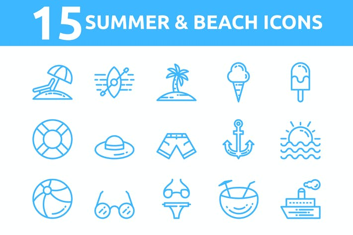 Cover Image For Summer Icons