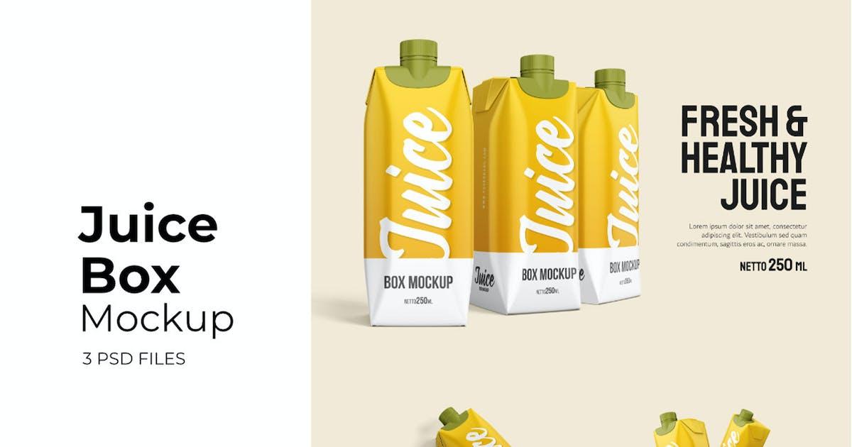 Download Juice Box - Mockup Vol.2 by GraphicGata