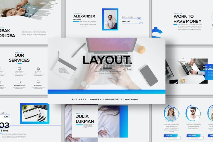 Thumbnail for Layout - Keynote Template