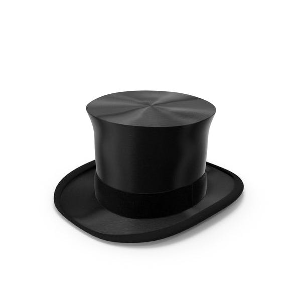 Luxury Black Top Hat