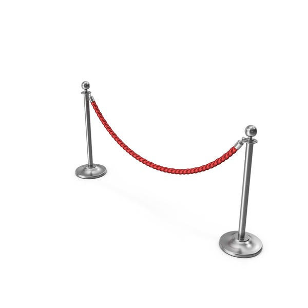 Silver Rope Barriers