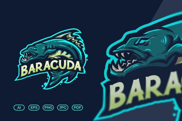 Baracuda Fish Esport Logo