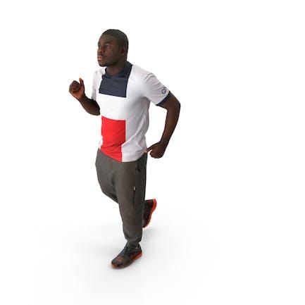 Spring Casual Man Running