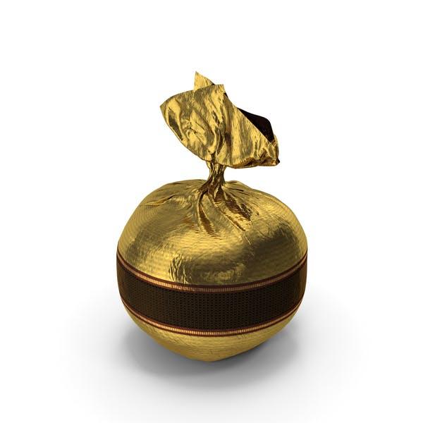 Umwickelte ausgefallene Schokolade Bonbon