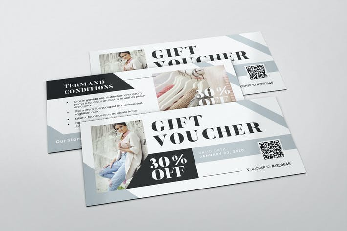Thumbnail for Fashion Boutique AI and PSD Gift Voucher