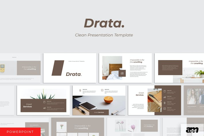 Thumbnail for Drata Clean Powerpoint