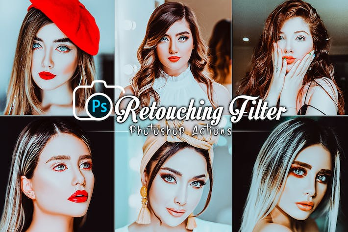 Retouching Filters Photoshop Actions