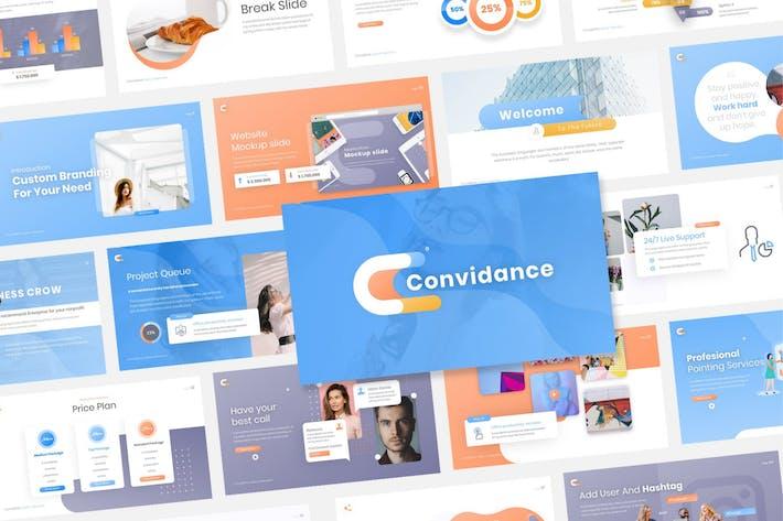 Thumbnail for Convidance Creative PowerPoint Template