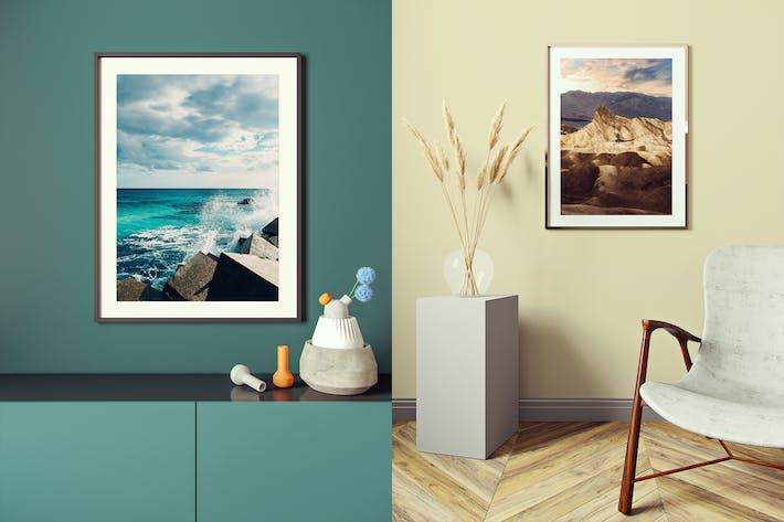 Thumbnail for Poster Frame Mockup v2