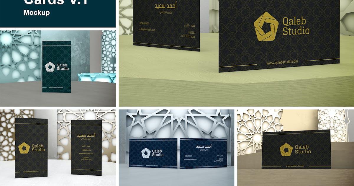 Download Arabic Business Cards V.1 by QalebStudio