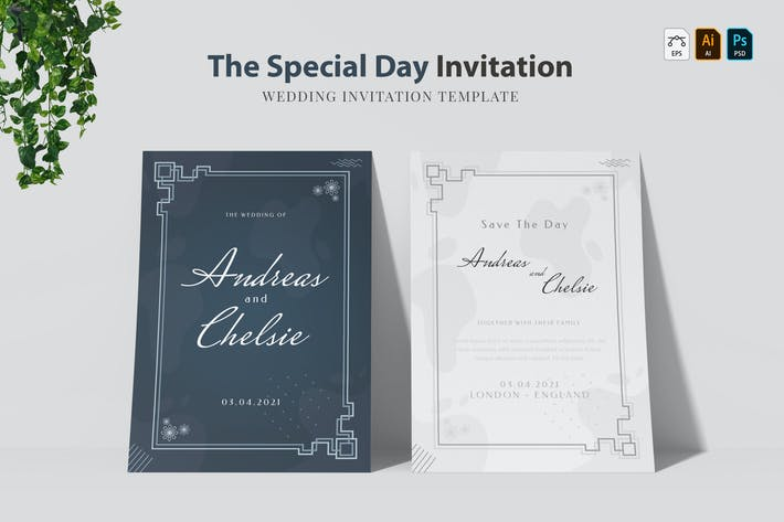 Special Day | Wedding Invitation