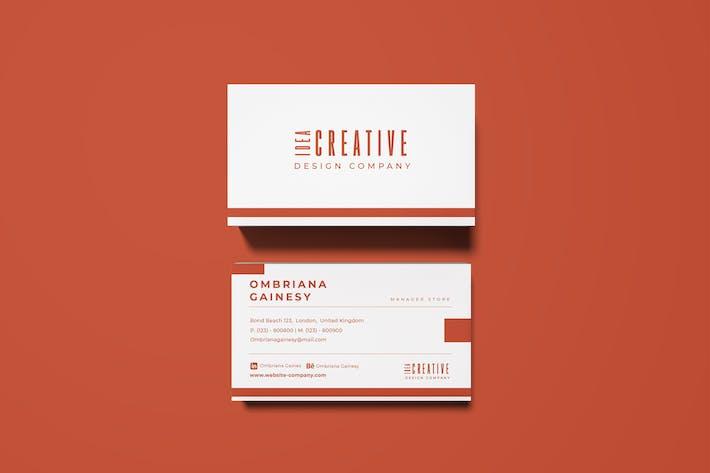 Thumbnail for Idea Business Card