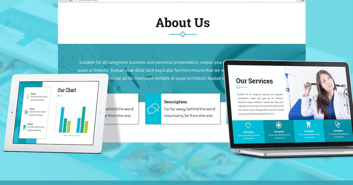 Download Medico - Medical Google Slides Template by SlideFactory