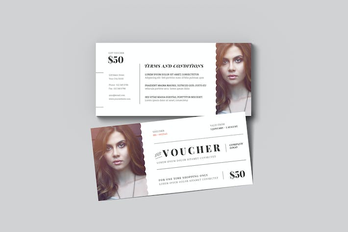 Thumbnail for Simple Fashion Gift Voucher