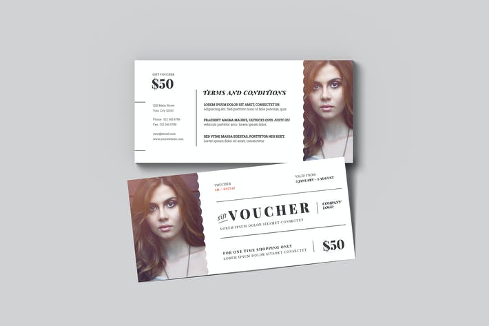 Thumbnail for Chèque-cadeau simple à la mode