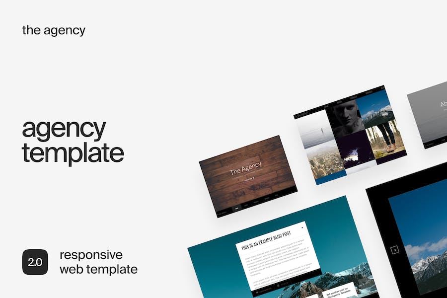The Agency | Responsive Business HTML Template