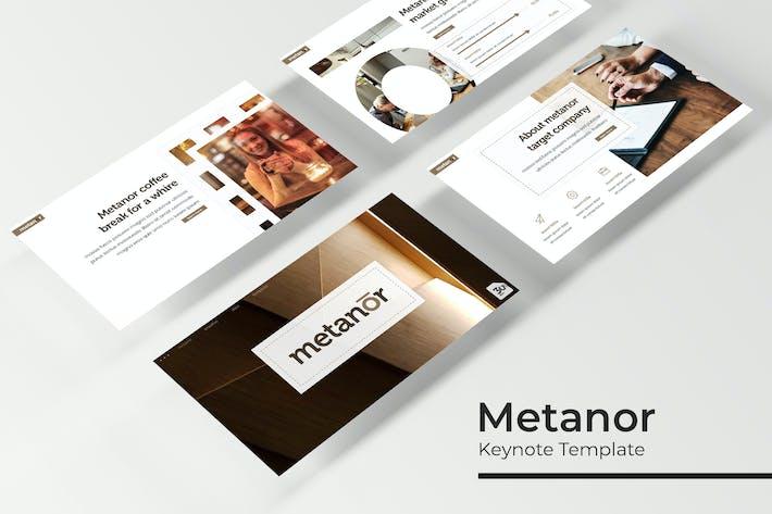 Thumbnail for Metanor - Keynote Template