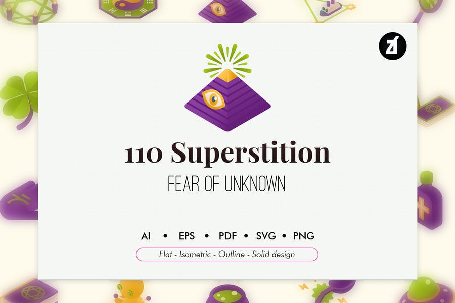 110 Esoteric and Superstition icon pack