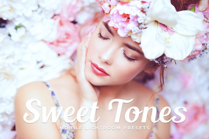 Thumbnail for Sweet Tones Mobile Lightroom Presets