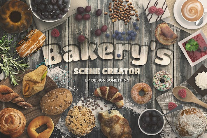 Thumbnail for Bakery Scene Creator Top View