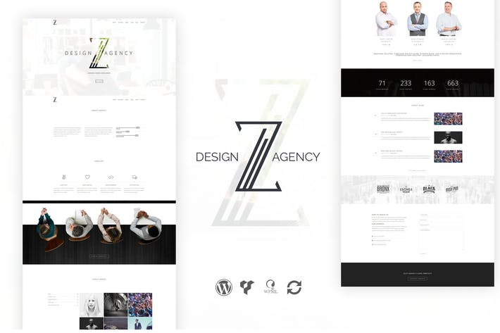 Thumbnail for Zuut - Clean Agency WordPress Theme