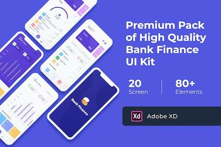 Bank Finance UI KIT