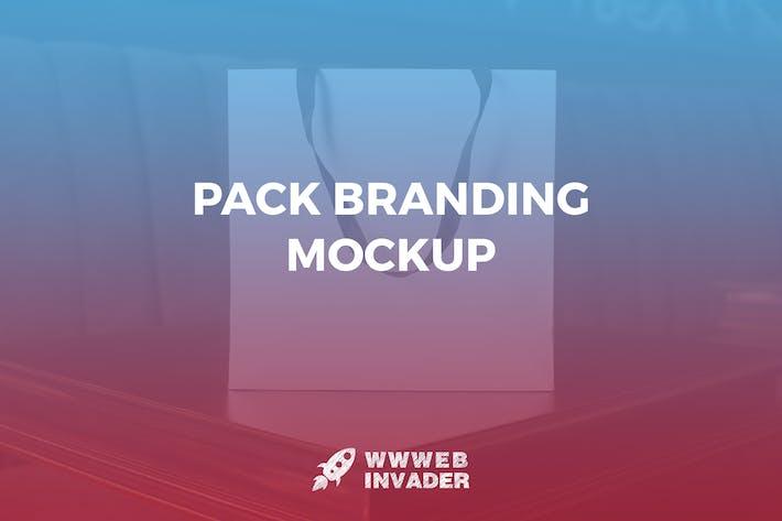 Cover Image For Pack Branding Mockup