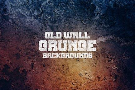 Alte Grunge WandHintergründe