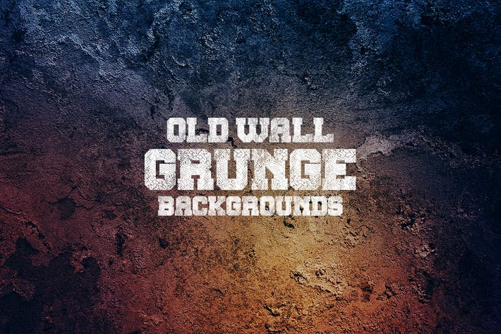 Thumbnail for Old Grunge Wall Backgrounds