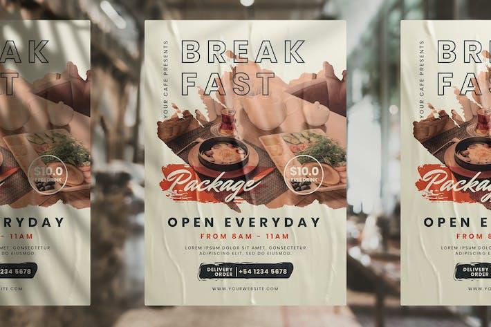 Breakfast Package Flyer
