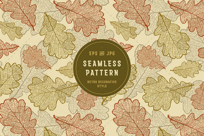 Thumbnail for Seamless Oak Pattern