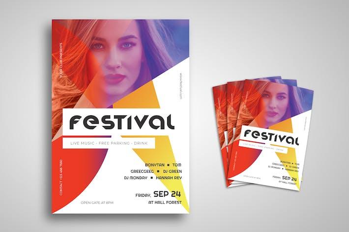 Thumbnail for Music Festival Promo Flyer