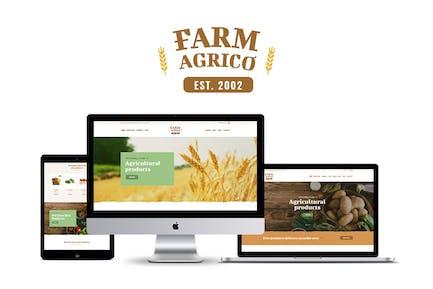 Farm Agrico - Agricultural Business WP Theme