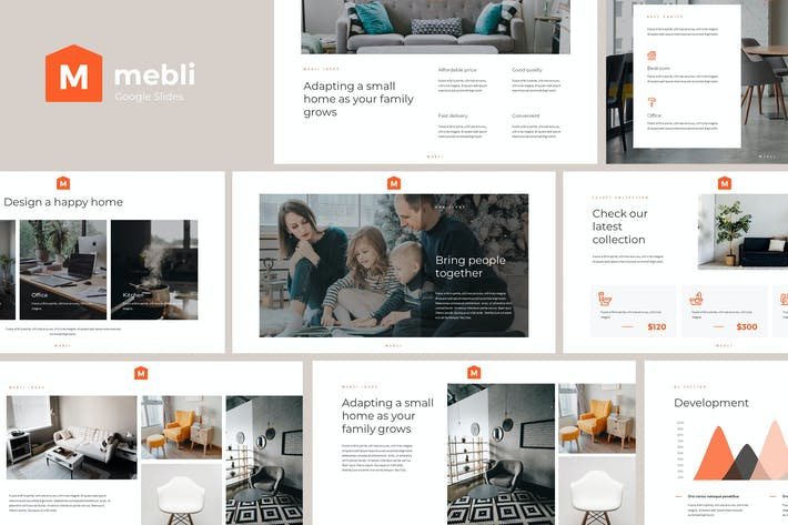 MEBLI - Simple & Elegant Google Slides