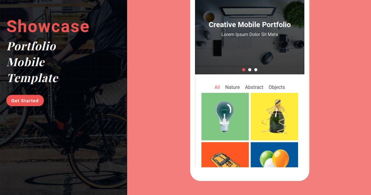 Download Showcase - Portfolio Mobile Template by rabonadev