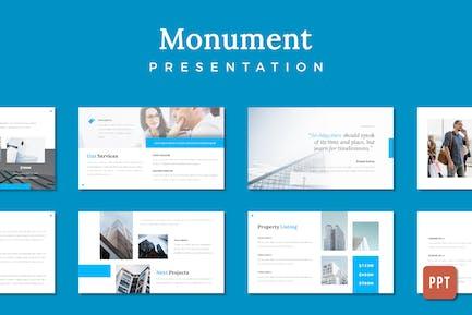 Monument Building Präsentation - (PPT)