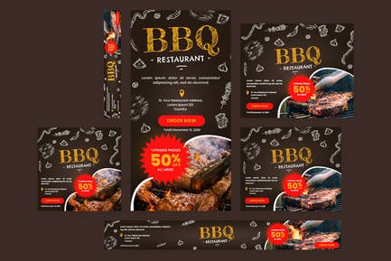 BBQ Feast -  Web Banner