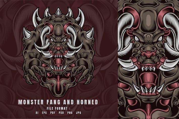 Monster Fang and Horned