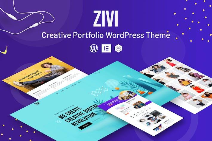 Zivi - Kreatives Portfolio WordPress Thema
