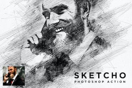 Sketcho Photoshop Action