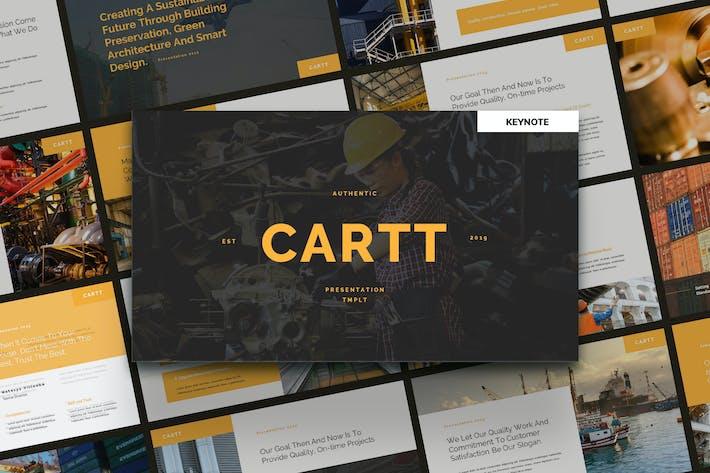 Thumbnail for CARTT - Шаблон Keynote свойств и разработчика