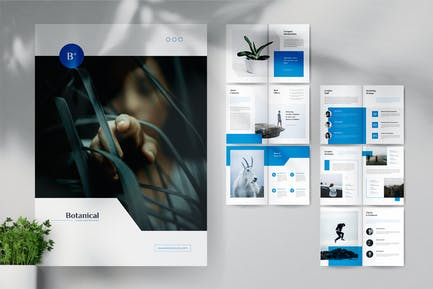 MADDON Botanical Business Brochures Template