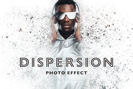 Efecto de foto de dispersión